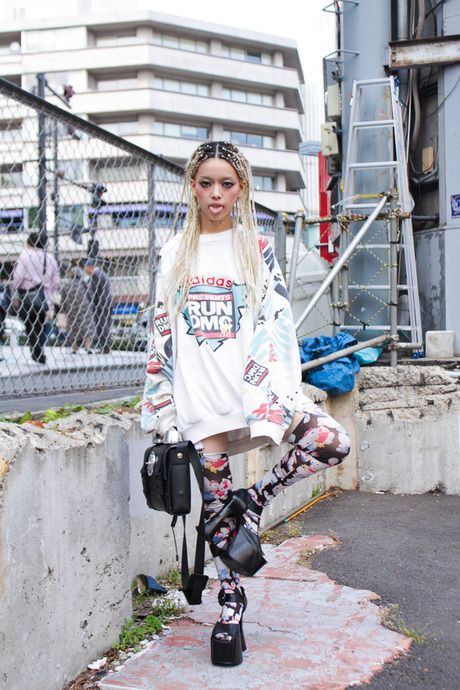 ストリートスナップ [イケダ ヒラリ]   AVANTGARDE, Dog, アバンギャルド, ドッグ   原宿   Fashionsnap.com
