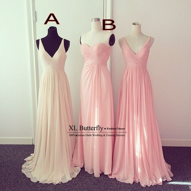 Online Buy Wholesale pink champagne bridesmaid dresses from China ...