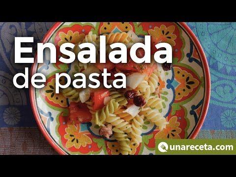 Ensalada de pasta fría ¡Ligera y llena de sabor!   #EnsaladaDePasta #RecetasEnVideo #RecetasConPasta #RecetasFaciles #RecetasRapidas #RecetasDeEnsalada #Ensaladas