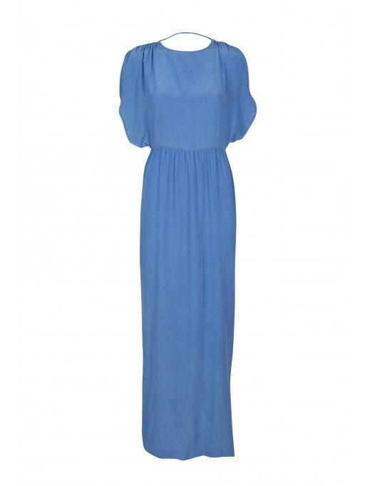 Caren Dress, Bright Blue