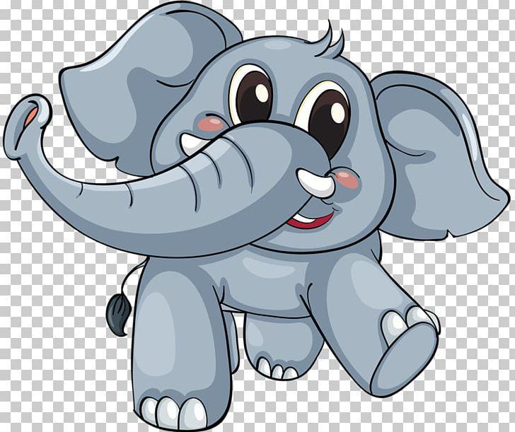 Elephant Cartoon Png Animal Animals Baby Elephant Carnivoran Cat Like Mammal Cartoon Clip Art Cartoons Png Animal Illustration Art