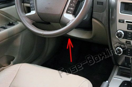 Ford Fusion (2010-2012) < Fuse Box location | Fuse box, Ford fusion, Power  saverPinterest