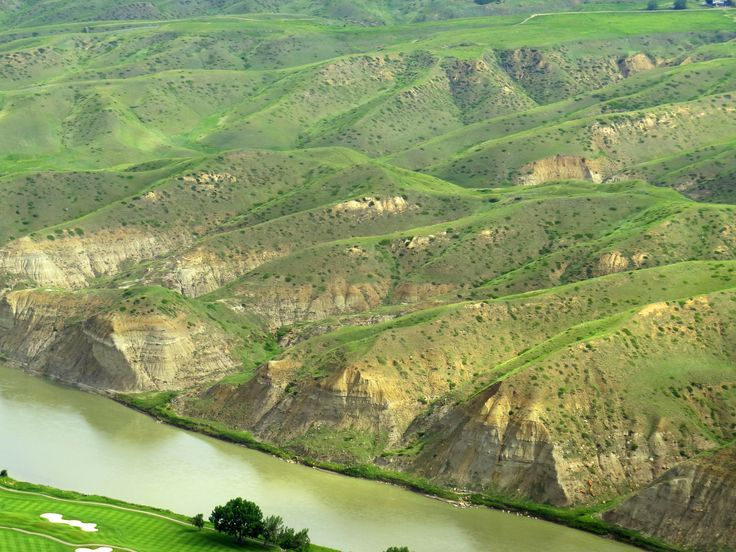 Alberta Grade 4 Social Studies 4.1 - Landforms - Coulee - What is a coulee? Coulees are the steep-sided, v-shaped valleys found along the river throughout Lethbridge.