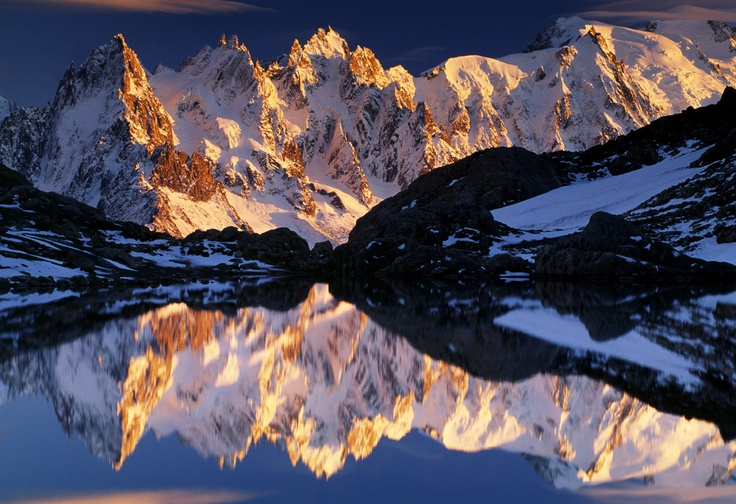 Amazing photography of a reflection