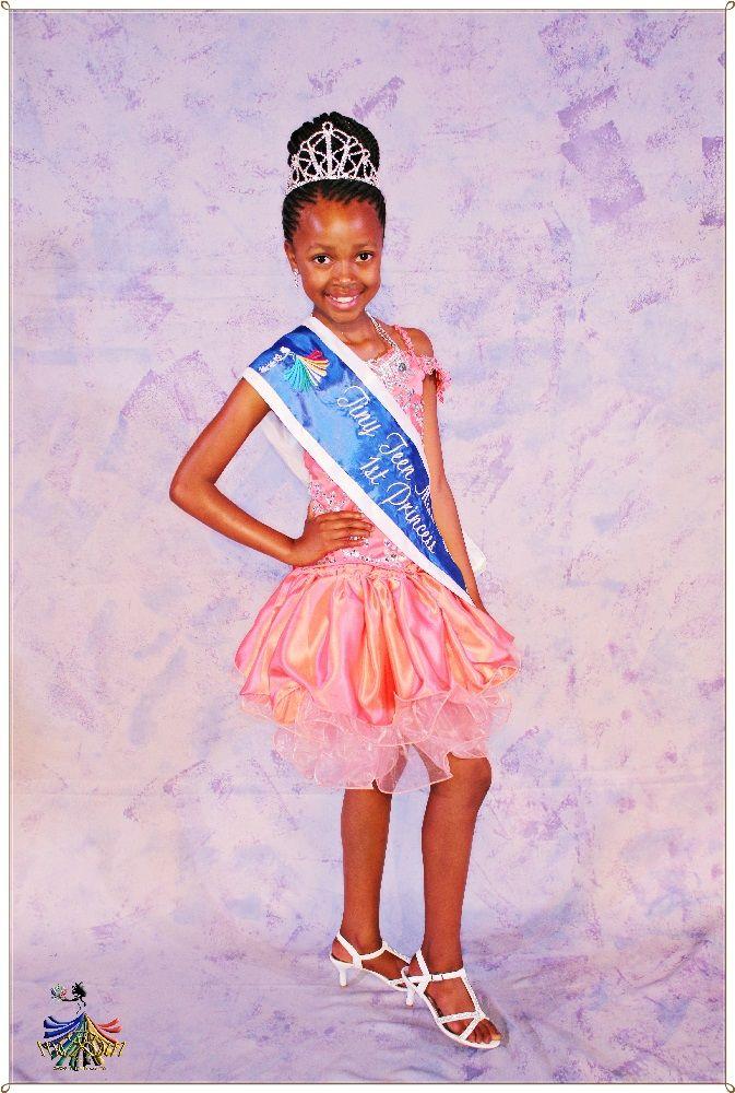 Tiny Teen Miss RSA 2015 - 1st Princess Kgothatso Mafongozi