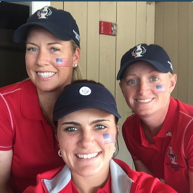 Go USA :)  #solheimcommercial @brittany1golf @stacey_lewis