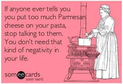 I'm not Italian but I sure love me some cheese!