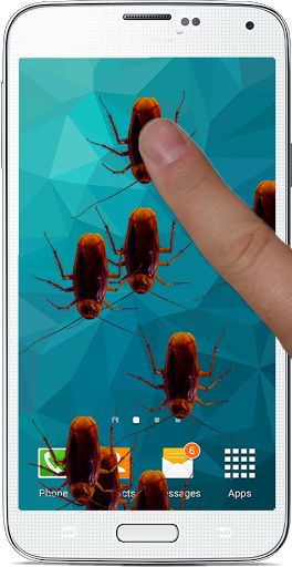 """How about a better idea to prank your friends? Download and install our """"Bug prank on Screen"""" app and make your friends think that you have a realistic bugs: black beetle,Spider,cockroaches,ladybug etc in your phone. <br>Touch anywhere on the screen and bugs start crawling on the phone. The move around and cause allergy to people who hate black beetle,Spider,cockroaches,ladybug etc. Great prank for people who hate black beetle,Spider,cockroaches,ladybug......<br>Bug crawls when you touch the…"""
