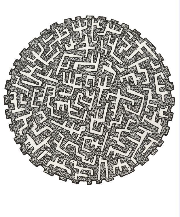 CILIOPHORA ROUND. design by #MaartenBaas #rugs
