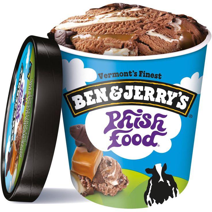 Ben & Jerry's Phish Food Ice Cream, 16 oz - Walmart.com