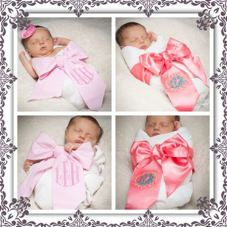 New Baby Swaddle SashNew born pictures take home por
