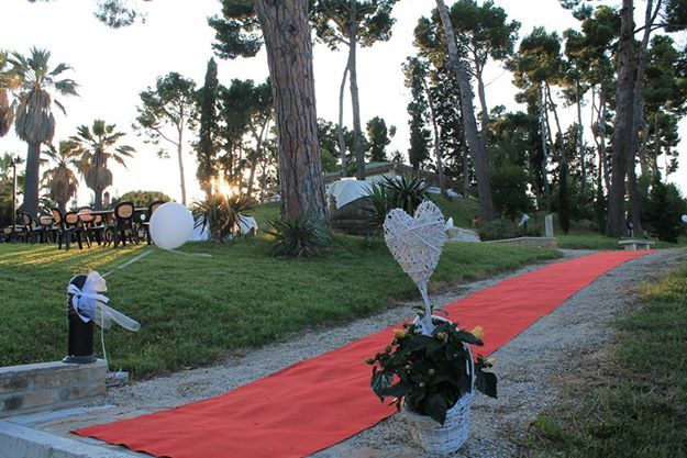 #eventi #matrimonio #dehors #iris #tappeto #rosso