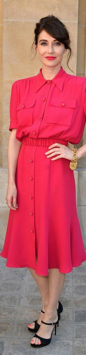 Carice van Houten at Schiaparelli Show #PFW