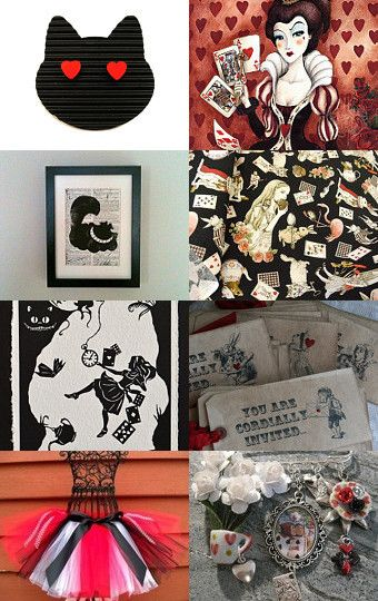 Alice in wonderland  by Anya Stolarenko on Etsy--Pinned with TreasuryPin.com
