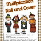 This is freebie is for two multiplication two roll and cover games from my Gobblin' Up Fun Math Centers for Bigger Kids.  Students roll two dice an...