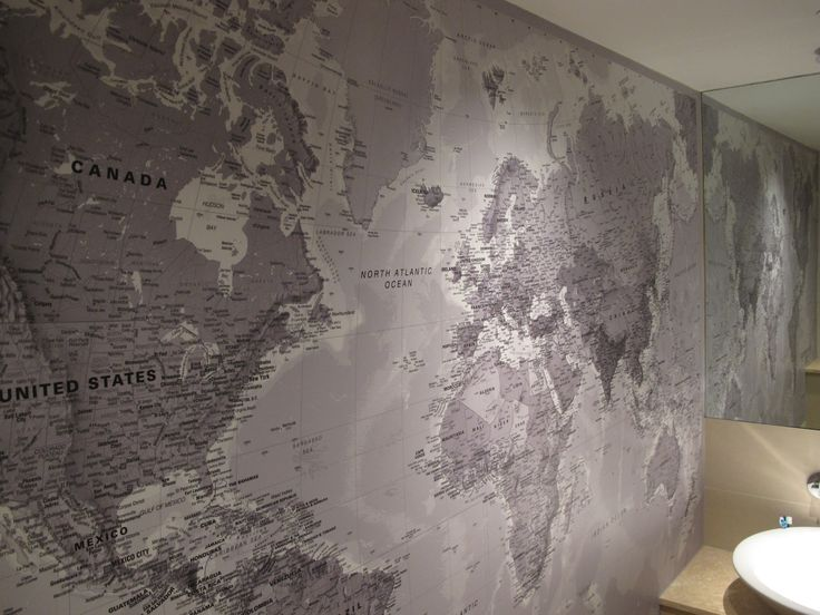 97 best world map and wall murals images on pinterest for the 17 creative exterior and interior wall murals world map gumiabroncs Choice Image