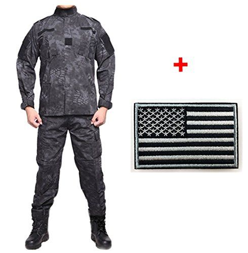 Eternal Heart Outdoor Tactical Unified Camouflage Clothing Hunting Camping camo Suit (Black python pattern, XS)   http://huntinggearsuperstore.com/product/eternal-heart-outdoor-tactical-unified-camouflage-clothing-hunting-camping-camo-suit/?attribute_pa_color=black-python-pattern&attribute_pa_size=x-small