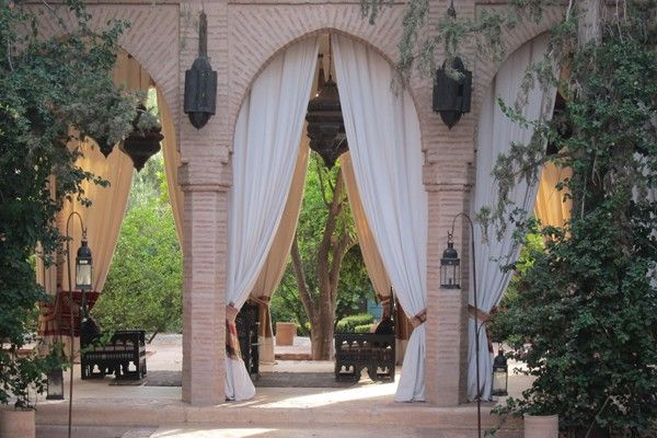 MARRAKESH- Beldi Country Club has a day pass option (lunch and full-day privileges for about $30 USD). You can sprawl out in any of the private areas of the garden maze by the pool, each bordered by a hedge of pink and orange bougainvillea.