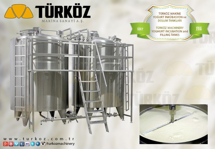 #turkoz #yoghurt #incubation #and #filling #tanks #cooling #cooking #evaporation #evaporator #milk #dairy #dairymachine #dairymachines #dairyproducts #cheese #cheddar #curd #turkey #manufacturer #producer