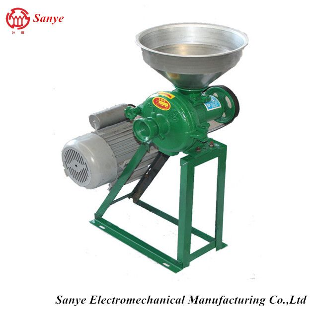 Wholesale price electric grain flour grinder small portable maize milling machines for sale in uganda