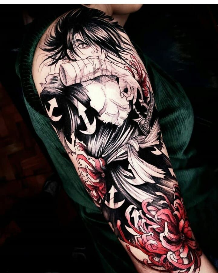 Hyakimaru tattoo this is great is very good tattoo i