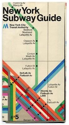 oof, how amazing would one of these old massimo vignelli designed subway maps be as framed art. those colours!