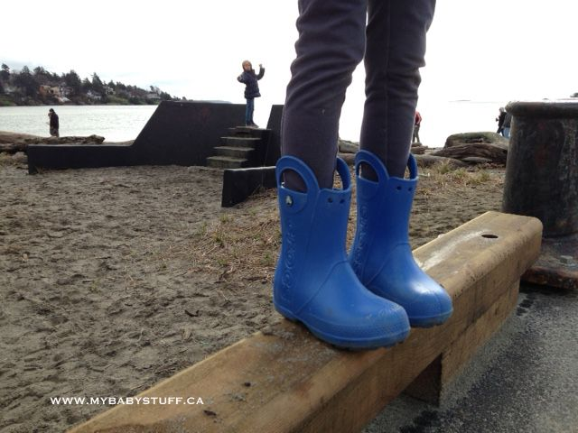 Crocs Handle It Rain Boots are my favourite boots on the market. They are durable, lightweight and easy to clean. Learn more on the blog and enter to WIN a pair now.