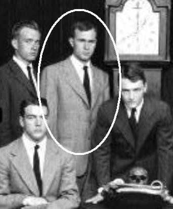 Prescott Bush with Skull and Bones Society at Yale (photo) Prescott Bush, was rumored to be one of the financial backers of Hitler. He allegedly helped to launder Nazi assets. If true, George H.W. and George W. both received their wealth from the Nazis. Prescott Bush's father-in-law attended the famous Jesuit school, Stonyhurst College: http://en.wikipedia.org/wiki/George_Herbert_Walker Prescott Bush also attended this Jesuit school, Stonyhurst College, before becoming a Yale University…