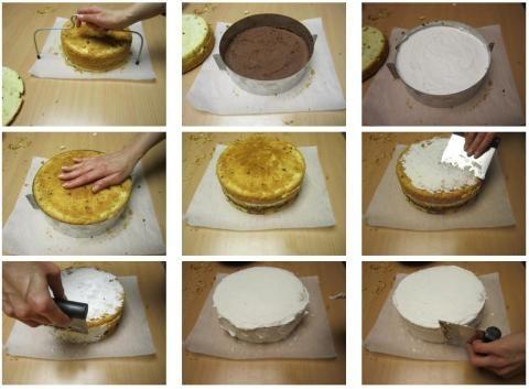 1000 images about arte in cucina on pinterest mascarpone g 20 and tutorials - Glassa a specchio su pan di spagna ...