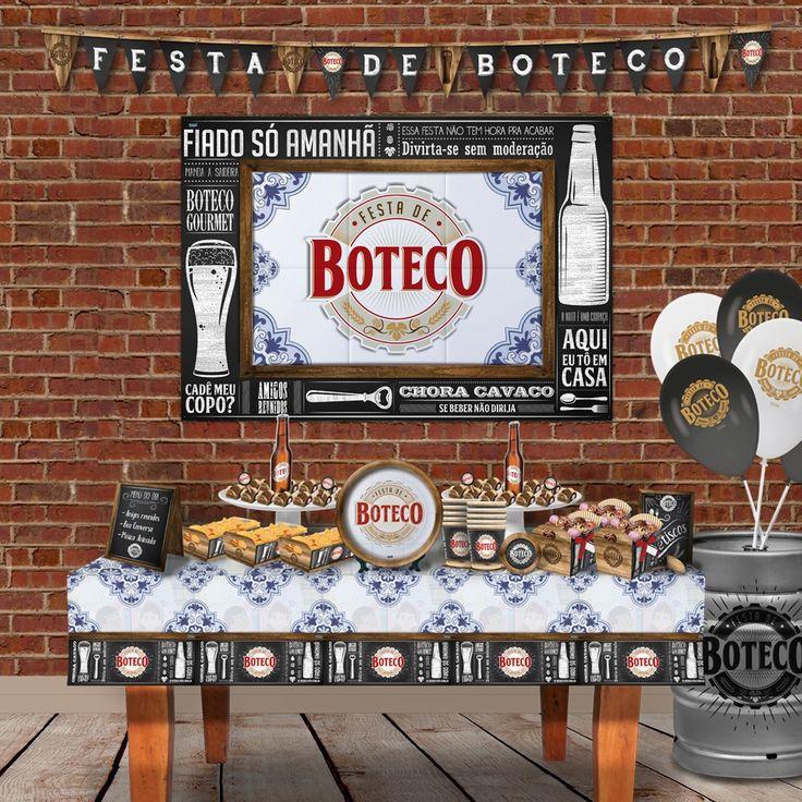 25+ melhores ideias de Festa tema boteco no Pinterest Festas com tema de cerveja, Festa buteco