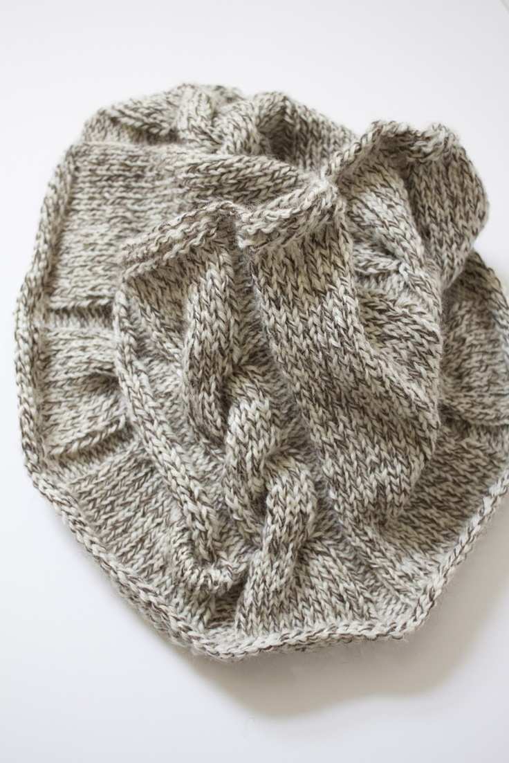 Free Knitting Patterns For Cabled Cowls : Cabled Cowl [Free Knitting Pattern] From the Blog Pinterest Knitting, K...