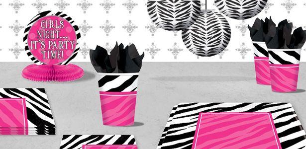 """Addobbi e decorazioni per feste a tema """"Zebra"""" su VegaooParty"""