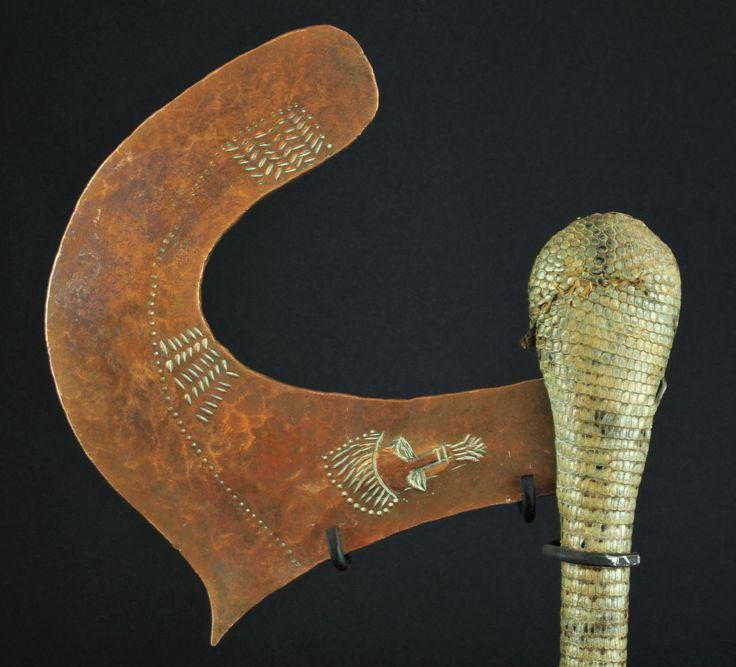 Hache Songye Congo Art Tribal Arts premiers Basongye axe Africa Kongo   eBay