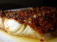 Chili, Lime & Cumin Cod - baked fish with lots of flavor it looks like.