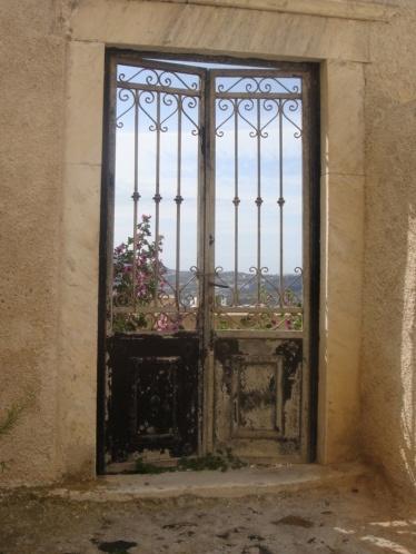 Off a little path in Oia, SantoriniOia Village, Envious Entry