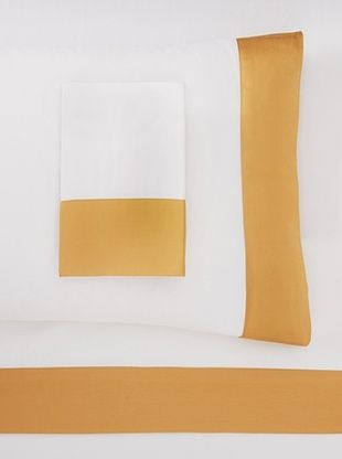 54% OFF Westport Linens Color Block Sheet Set (Gold)