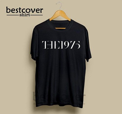 The 1975 Band Logo Merch T-Shirt made from 100% cotton, standard fit