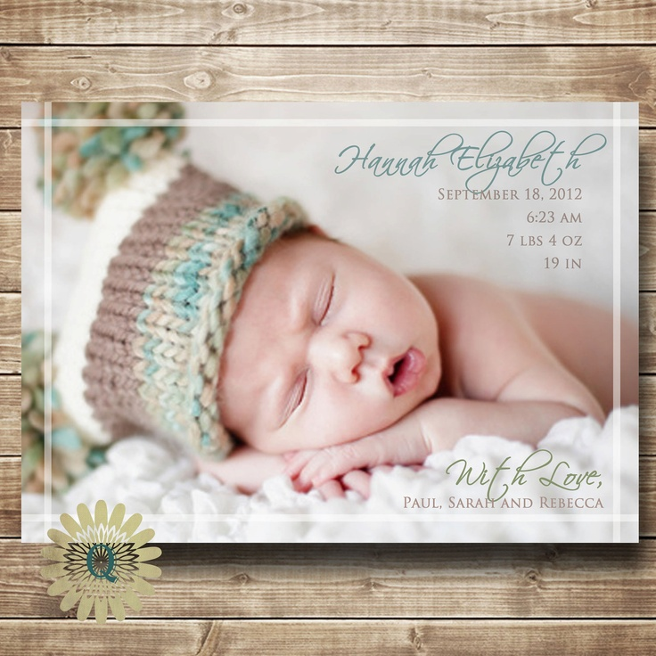 128 best Baby Birth Announcement Ideas images – Create a Birth Announcement