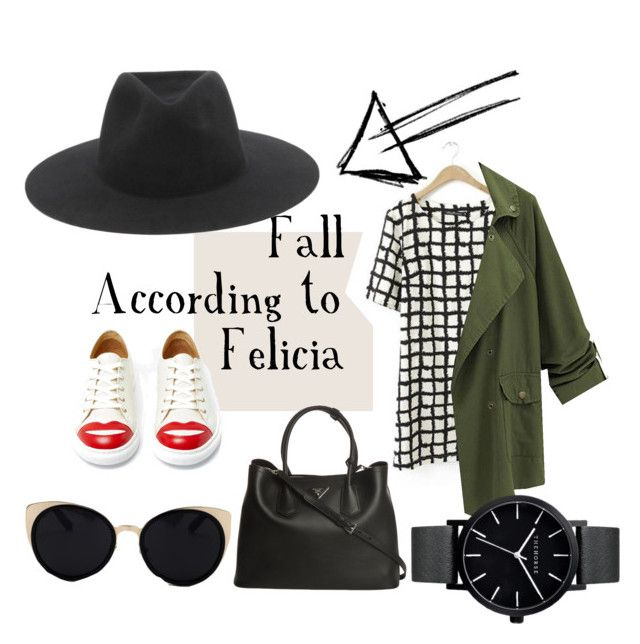 """""""Fashion"""" by luthandolove on Polyvore featuring Charlotte Olympia, Prada, Una-Home, The Horse and rag & bone"""