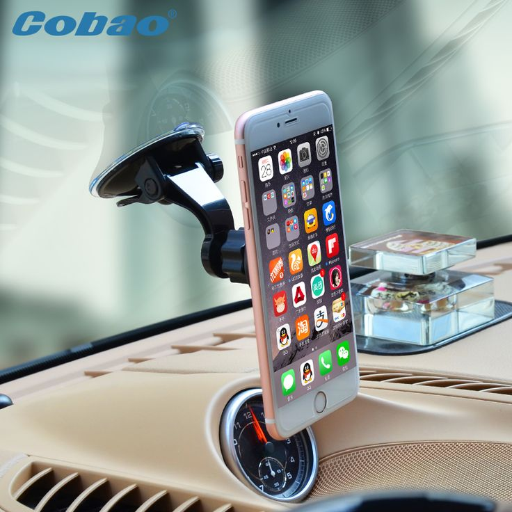 >> Click to Buy << Universal car cell phone holder windshield magnetic mobile holder support telephone voiture for smartphone iPhone gps #Affiliate