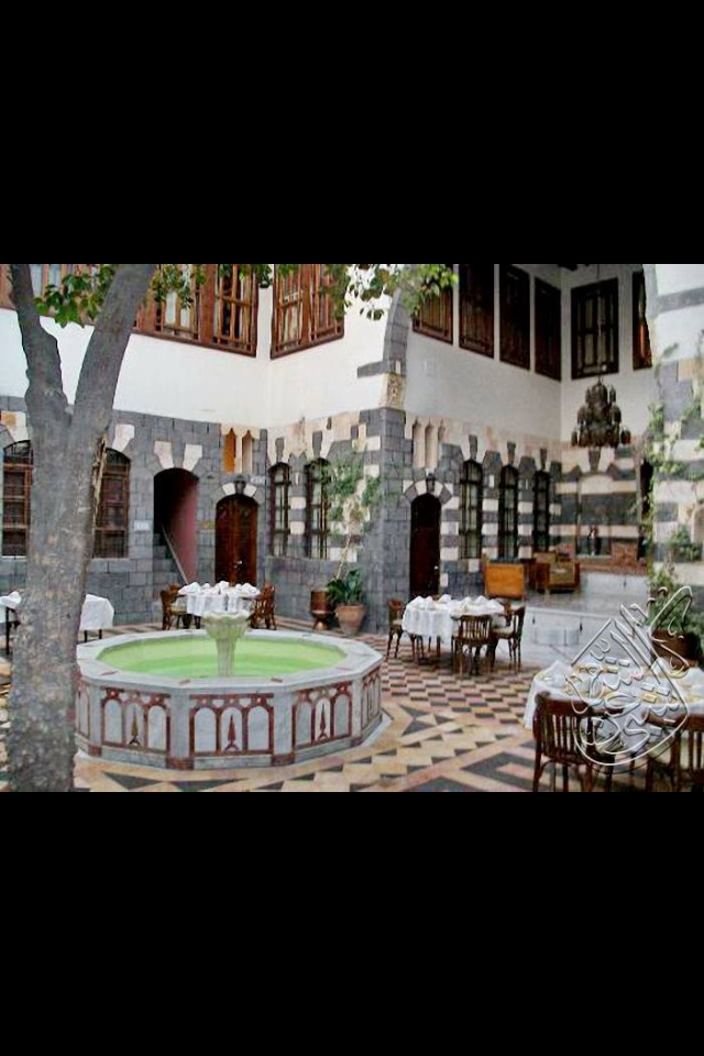 Old damascus house syria pinterest for The damascus house