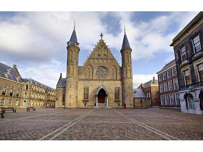 Hague Country side | Gothic facade of Ridderzaal in Binnenhof, Hague, Netherlands.