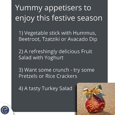 Bring out these mouthwatering #healthy appetisers at your #Christmas party