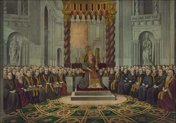 Pope Pius IX was declared infallible at the First Vatican Council