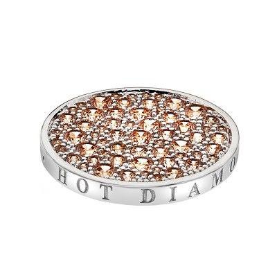 Hot Diamonds Emozioni Champagne Coin | Peter Jackson