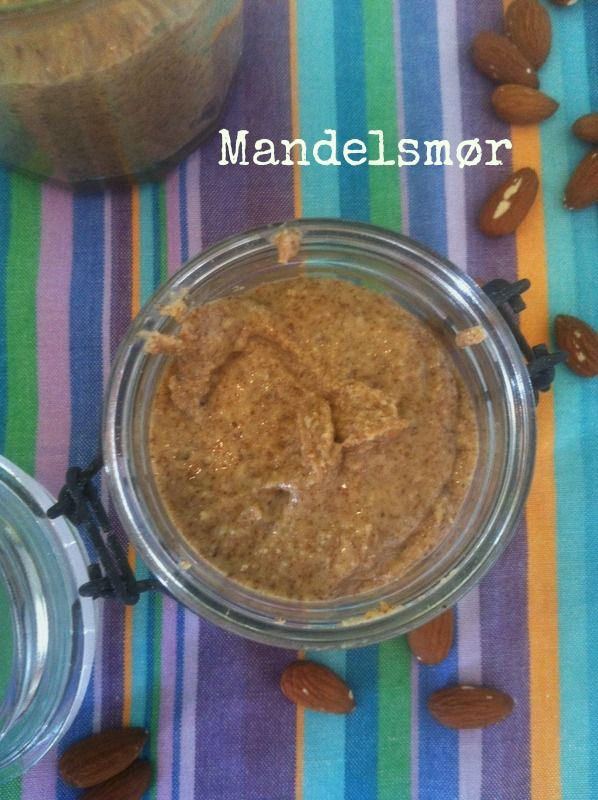 Homemade almond butter - LCHF