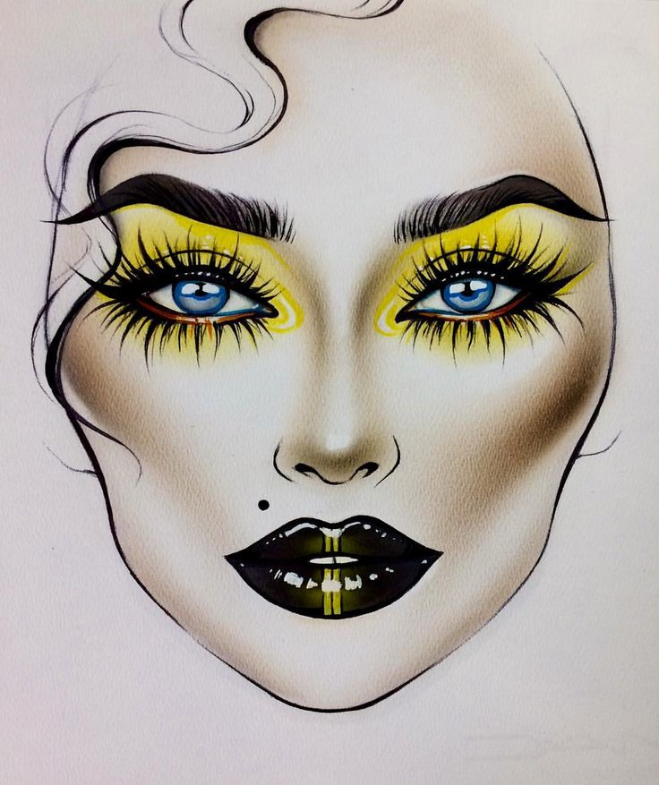 Best 25 makeup drawing ideas on pinterest eye drawings makeup goddess leach makeup drawingmakeup ccuart Images