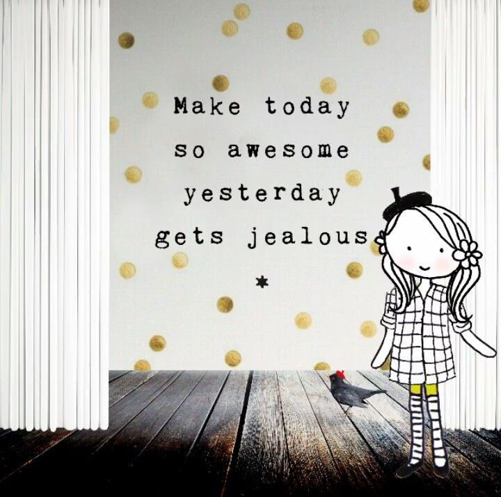 Annelinde Tempelman / Make today awesome