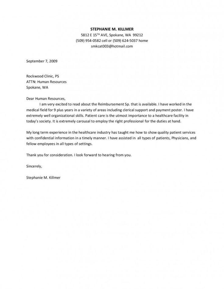 Application Cover Letter Registered Nurse Resume