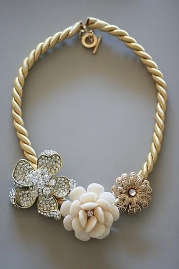 Anthro DIY Marjorelle Necklace